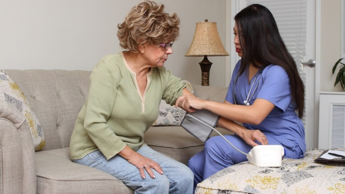 Carer and client